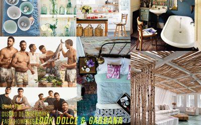 Un hombre, un hogar, un estilo _DOLCE & GABBANA_