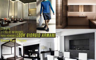 Un hombre, un hogar, un estilo _GIORGIO ARMANI_