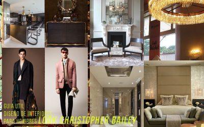 Un hombre, un hogar, un estilo _CHRISTOPHER BAILEY_